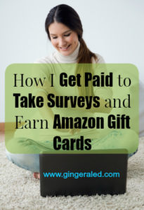 How I Get Paid to Take Surveys and Earn Amazon Gift Cards