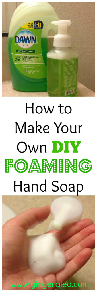 how to make your own hand soap