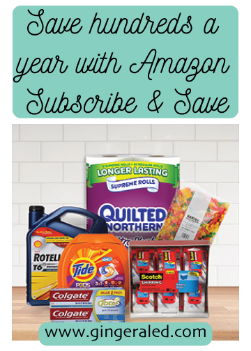 Save Hundreds a Year With Amazon Subscribe & Save
