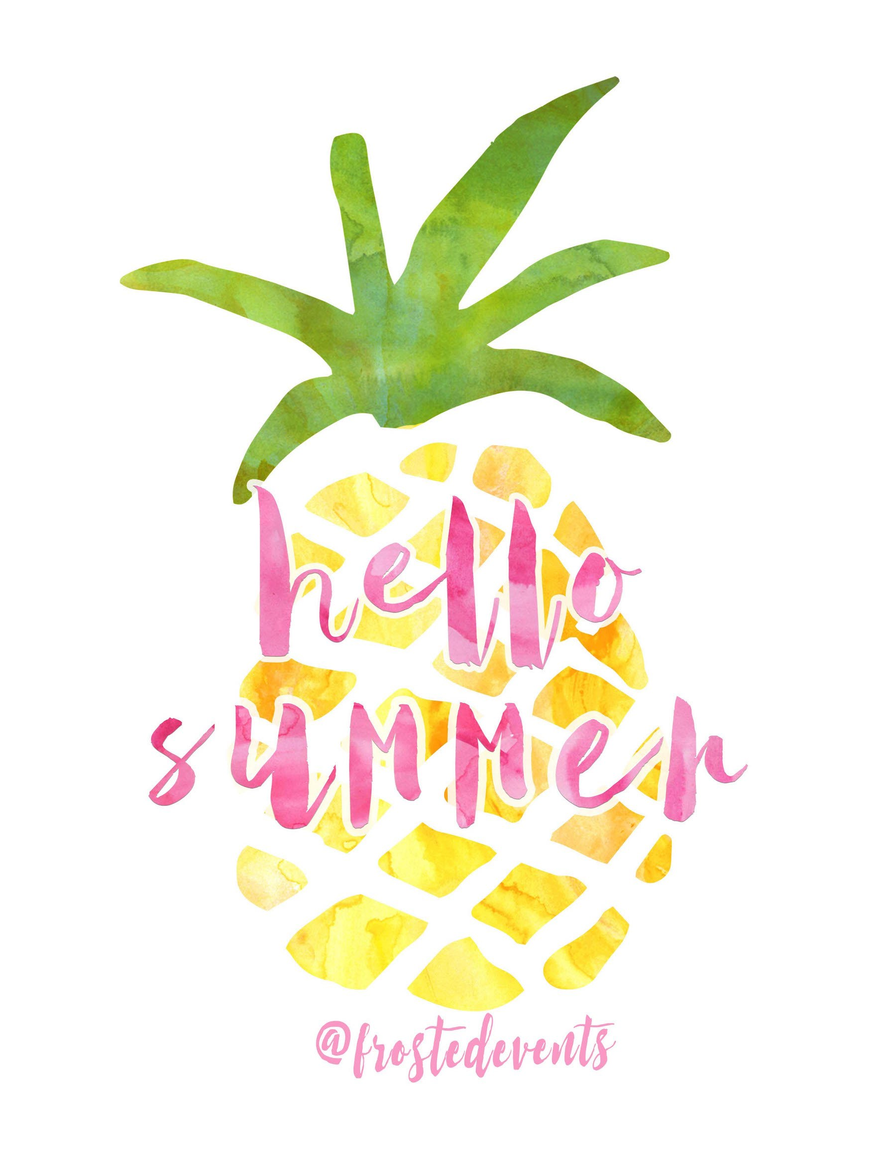It's just a graphic of Gorgeous Free Summer Printables