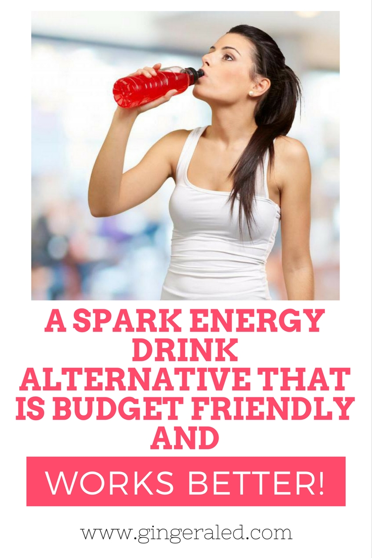 A Spark Energy Drink Alternative That is Budget Friendly and Works Better!