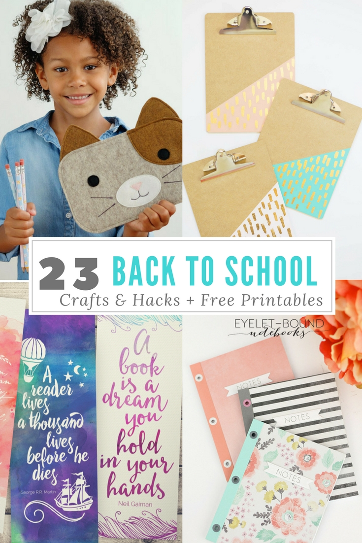 23 23 back to school crafts & hacks